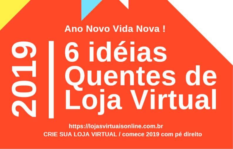Ideias de E-commerce 2019