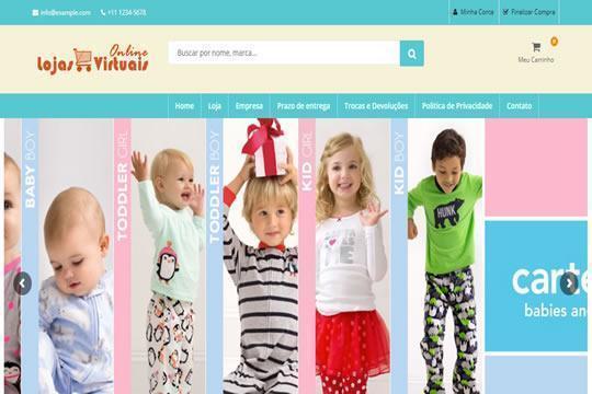 Loja Moda Infantil
