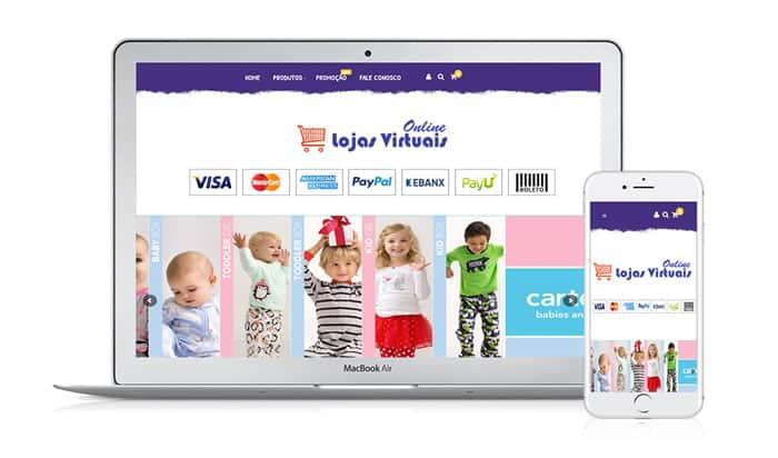 criar loja virtual gratis