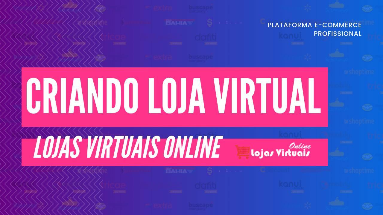 Criando Loja Virtual