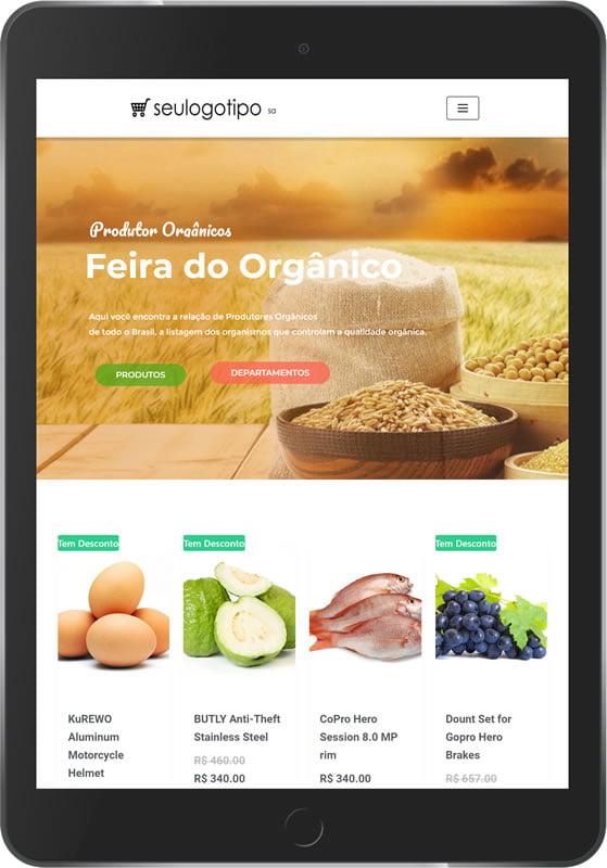 loja virtual produtos organicos tablet min