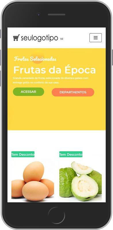 loja virtual supermercado mobile