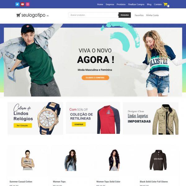 loja virtual Magazine