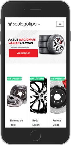 Loja Virtual Pneus Mobile