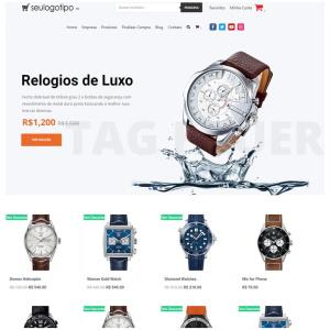 Loja Virtual Relógios Completa
