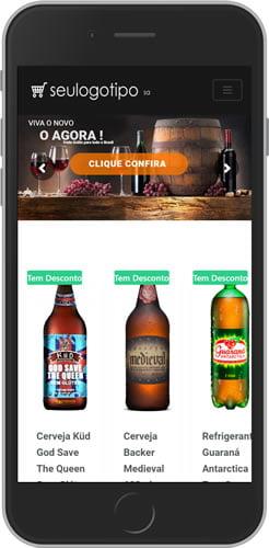 Loja Virtual de Bebidas Mobile