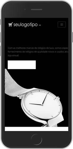 Loja Virtual de Jóias e Relógios Mobile