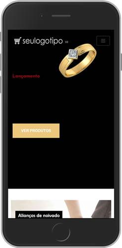 Sistema de Loja Virtual Alianças mobile