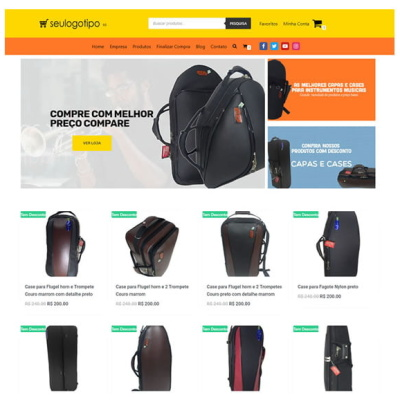 loja virtual de bolsas e acessorios