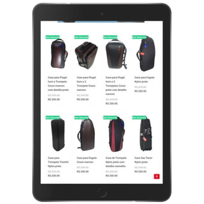 loja virtual de bolsas e acessorios tableta 1