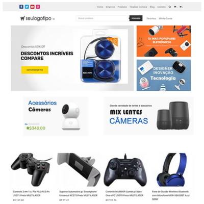 loja virtual de bolsas e acessorios tableta