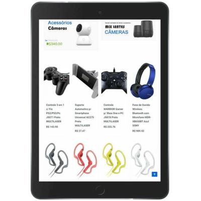 loja virtual de informática tablet