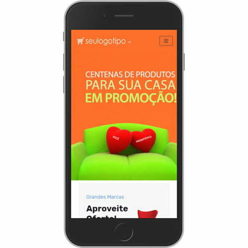 loja virtual de móveis interior mobile
