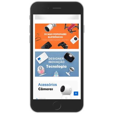 loja virtual informatica e acessorios mobile