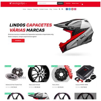 loja virtual moto peças acessórios