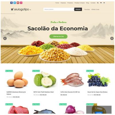 loja virtual organicos