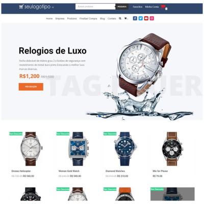 loja virtual relógios e presentes
